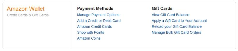 amazon credit manage
